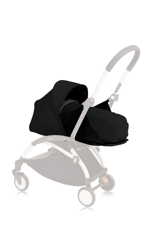 Babyzen Yoyo+ 0+ Neugeborenen-Set Schwarz BZ10107-05