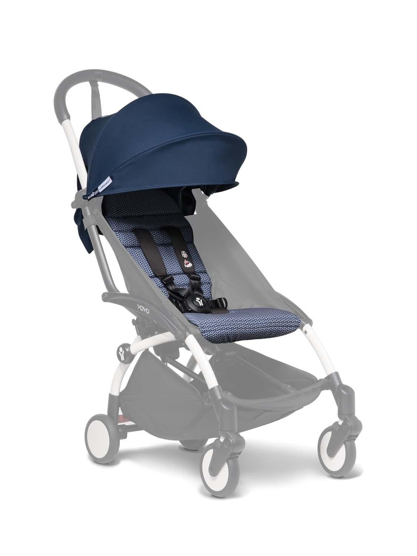Babyzen Yoyo+ 6+ Textilset für Kleinkinder air france blue BZ10108-11