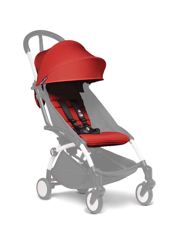 Babyzen Yoyo+ 6+ Textilset für Kleinkinder rot BZ10104-04