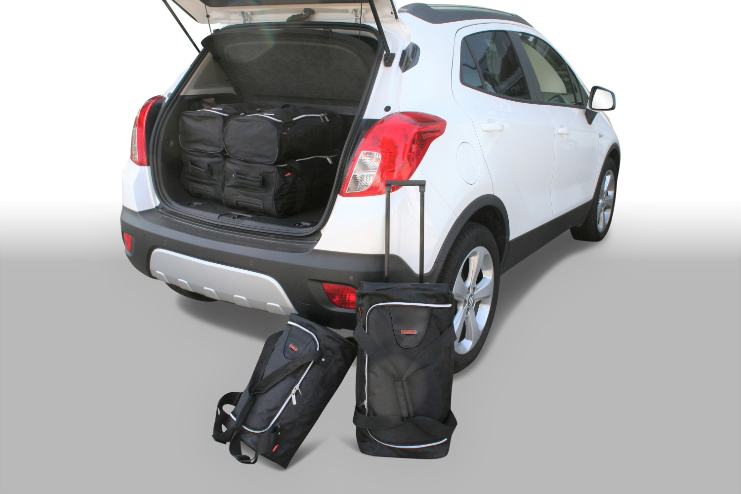 car bags opel mokka mokka x reisetaschen set ab 2012. Black Bedroom Furniture Sets. Home Design Ideas