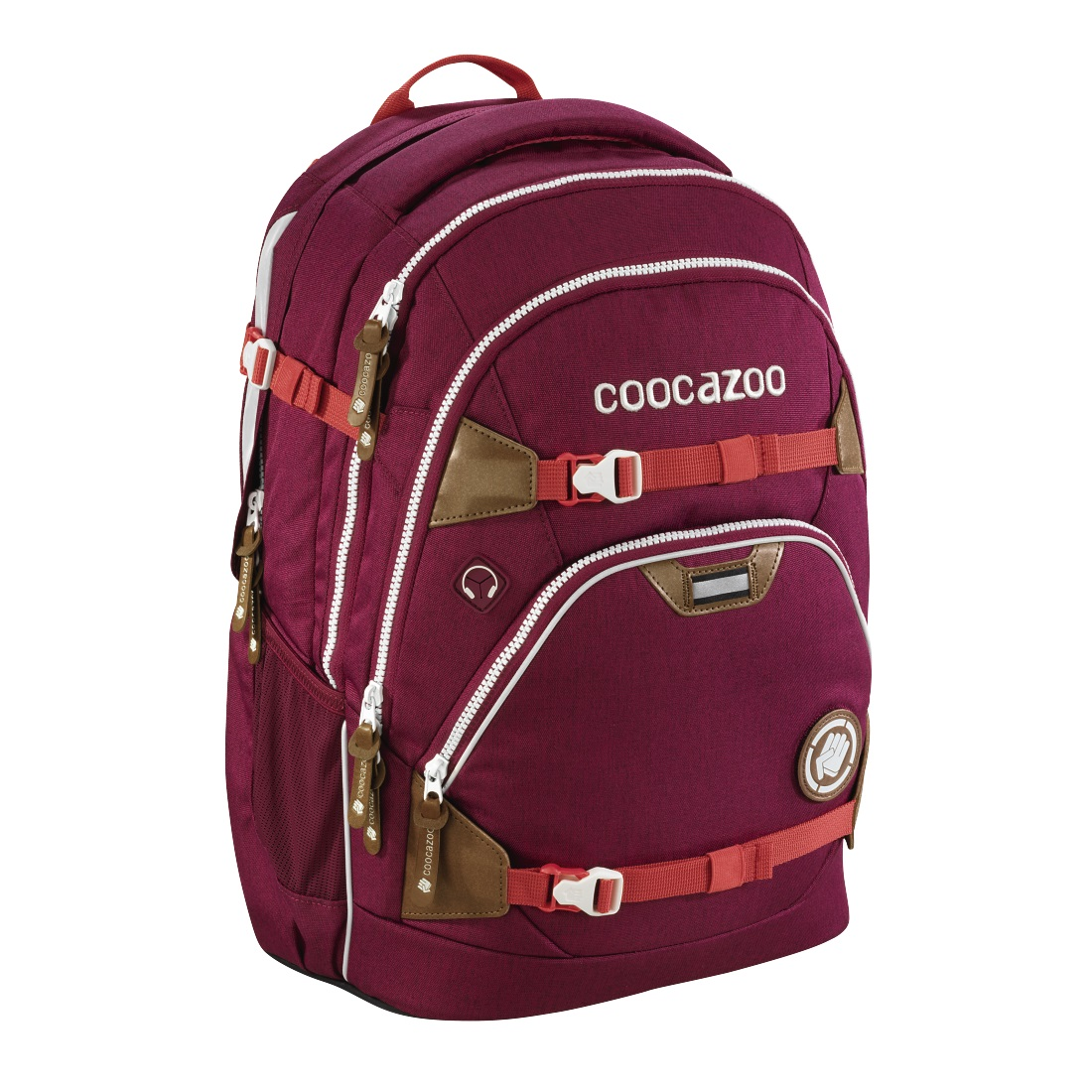 Coocazoo ScaleRale *Mixed Melange* Limited Edition Schulrucksack Bold Berry 183657