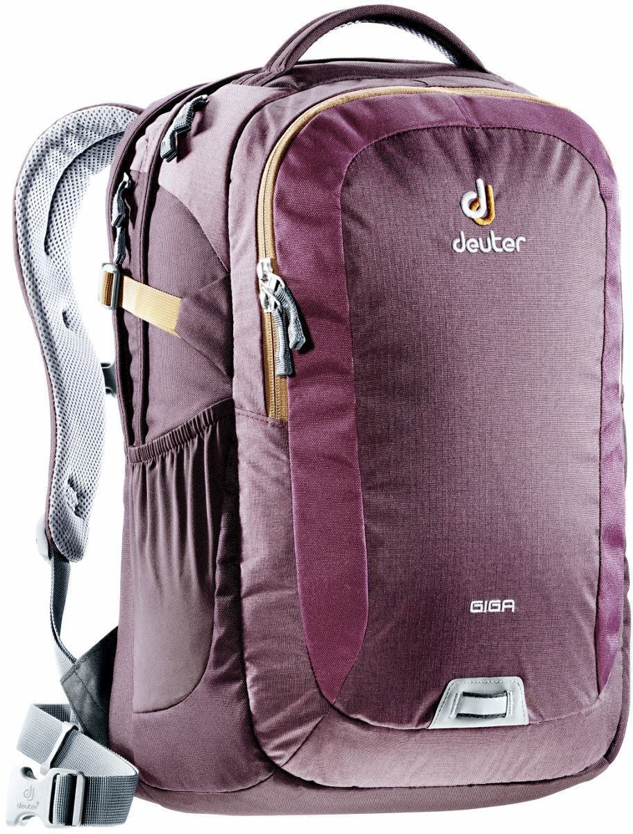 deuter giga rucksack school daypack 15 6 aubergine lion. Black Bedroom Furniture Sets. Home Design Ideas