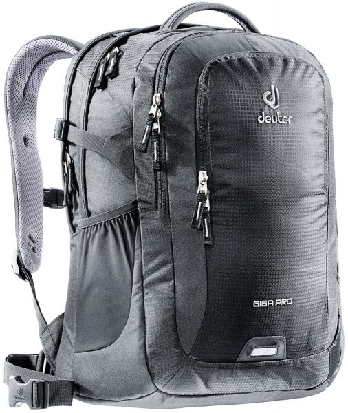 deuter giga pro laptop rucksack 15 6 black jetzt auf. Black Bedroom Furniture Sets. Home Design Ideas