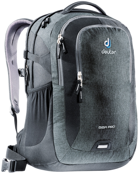 deuter giga pro laptop rucksack 15 6 dresscode black. Black Bedroom Furniture Sets. Home Design Ideas