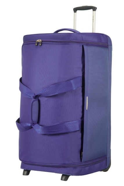 samsonite dynamo reisetasche mit rollen 77cm royal blue. Black Bedroom Furniture Sets. Home Design Ideas