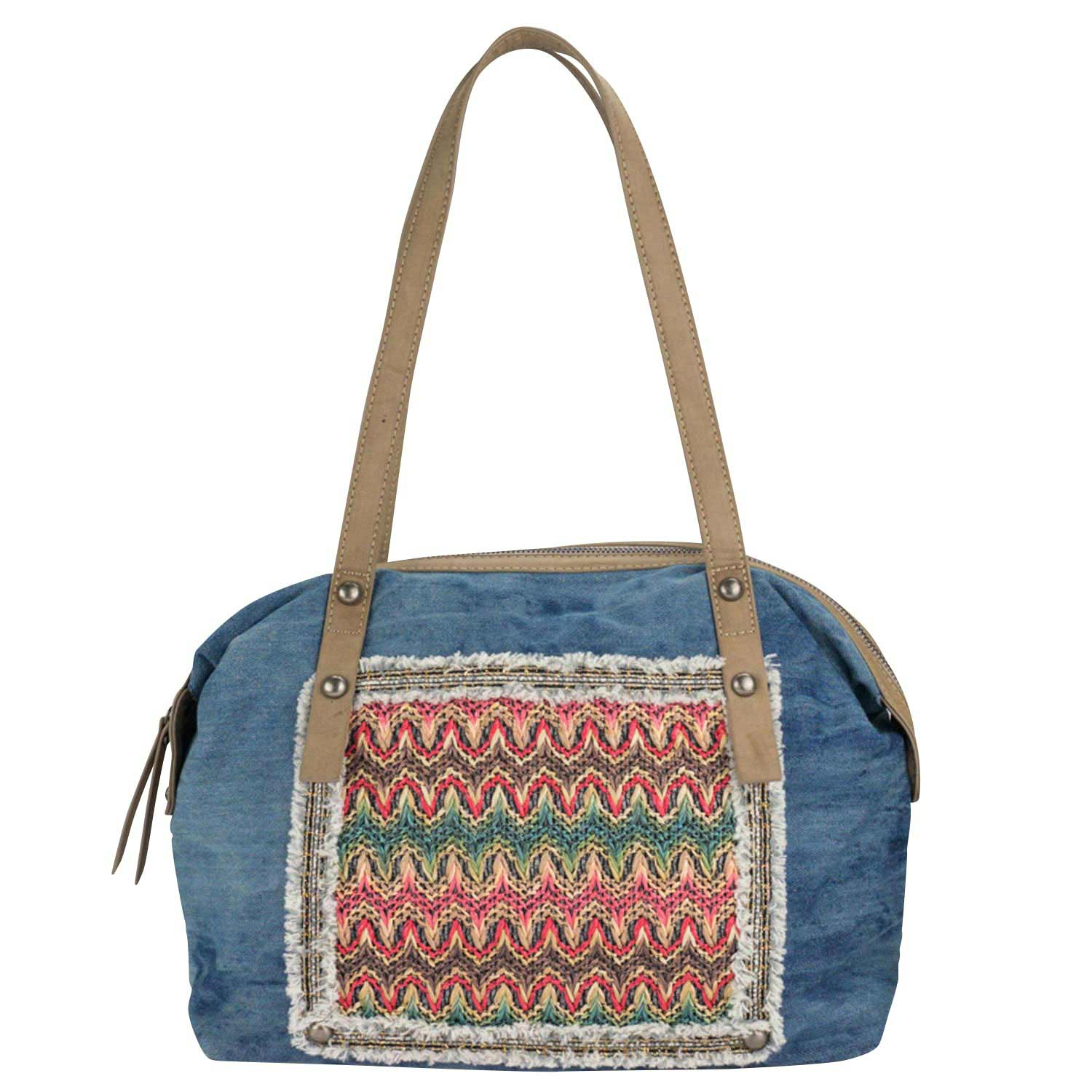 Louiz & Lou Jeans Kiss Handtasche Denim 2262-65