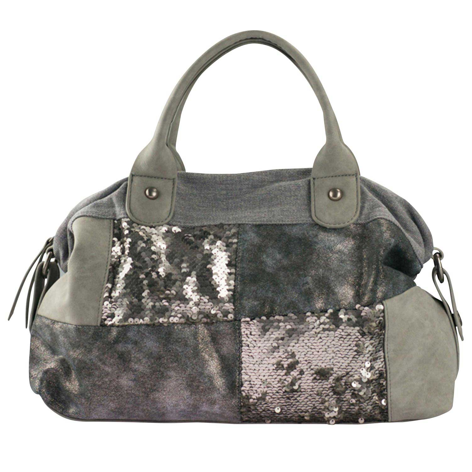 Louiz & Lou Light Up Handtasche Silver 2272-90