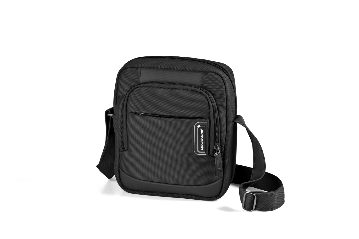 March bags get a'way Schultertasche black 2111-07-02