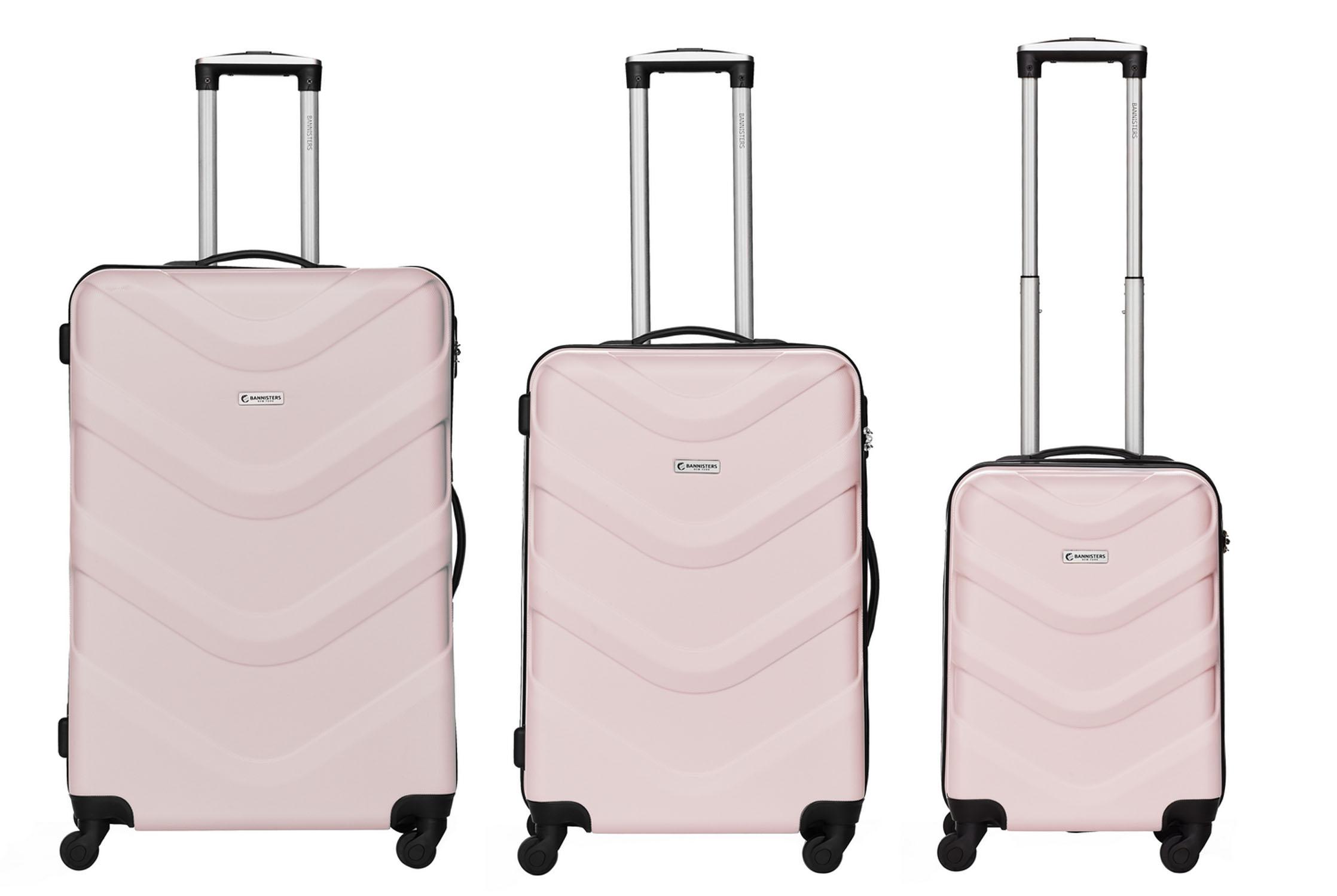 packenger brooklyn bannisters koffer 3er set mauve jetzt auf kaufen. Black Bedroom Furniture Sets. Home Design Ideas