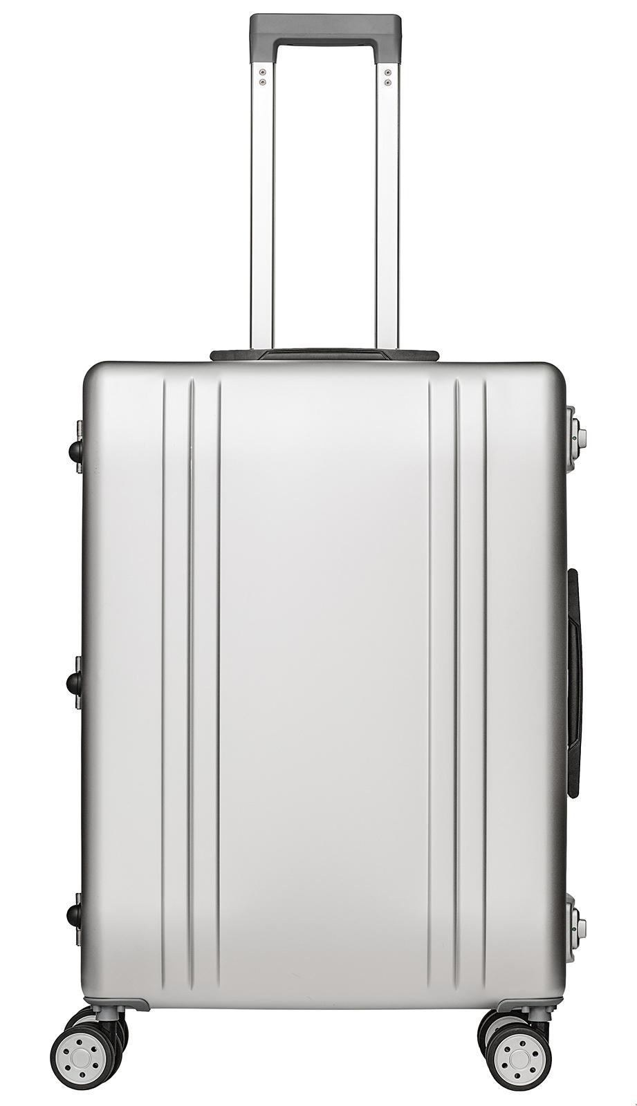 packenger aluminium luxury traveller alu reisekoffer 68l silber jetzt auf kaufen. Black Bedroom Furniture Sets. Home Design Ideas