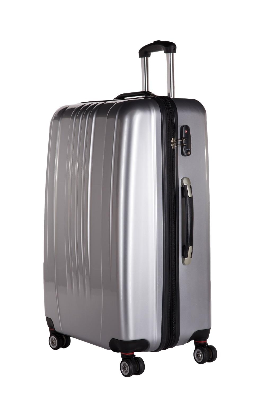 packenger stone premium koffer l silber jetzt auf koffer. Black Bedroom Furniture Sets. Home Design Ideas