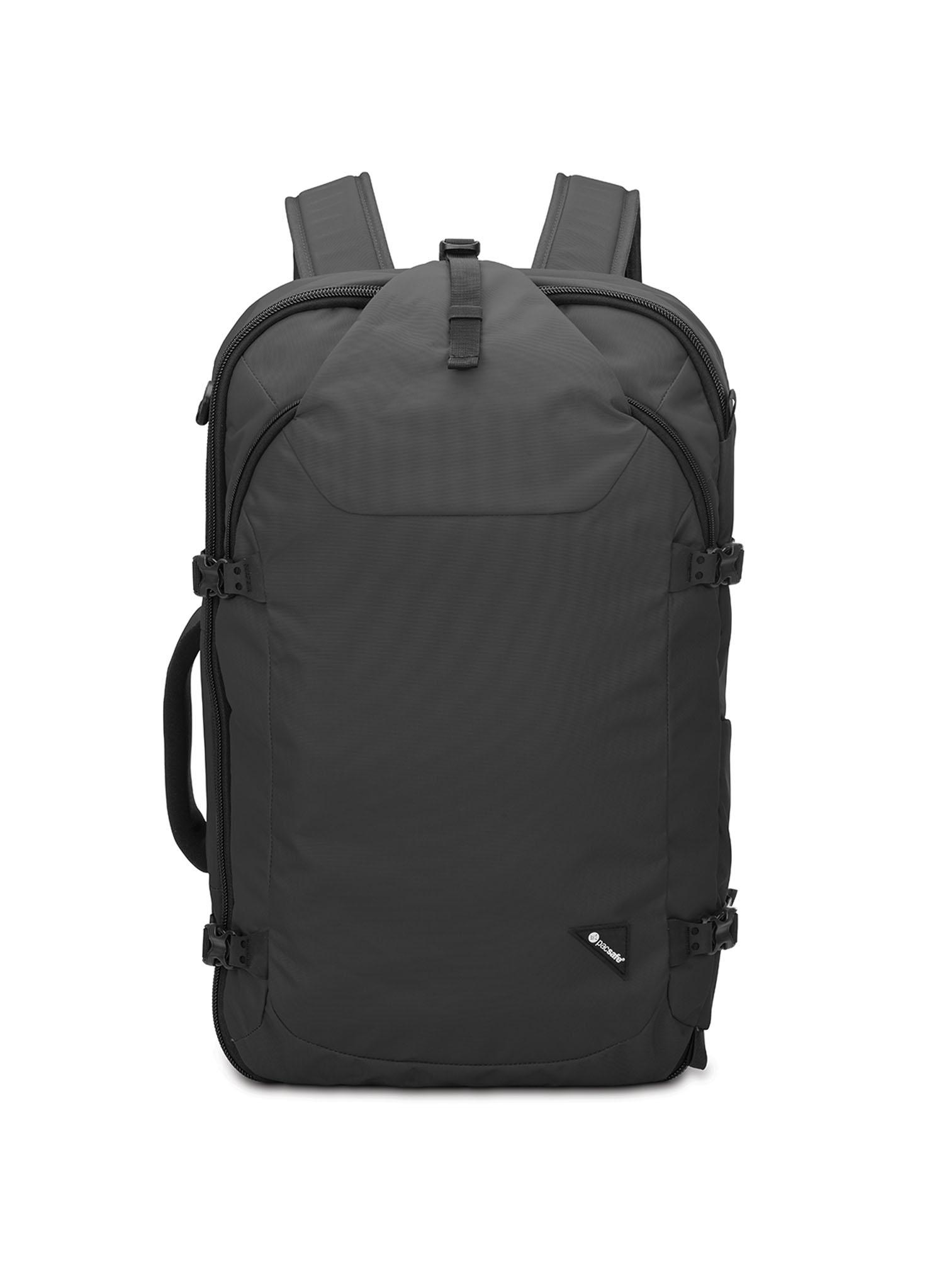 211d14b4cc6c0 pacsafe Venturesafe EXP 45L Rucksack mit RFID-Schutz Black