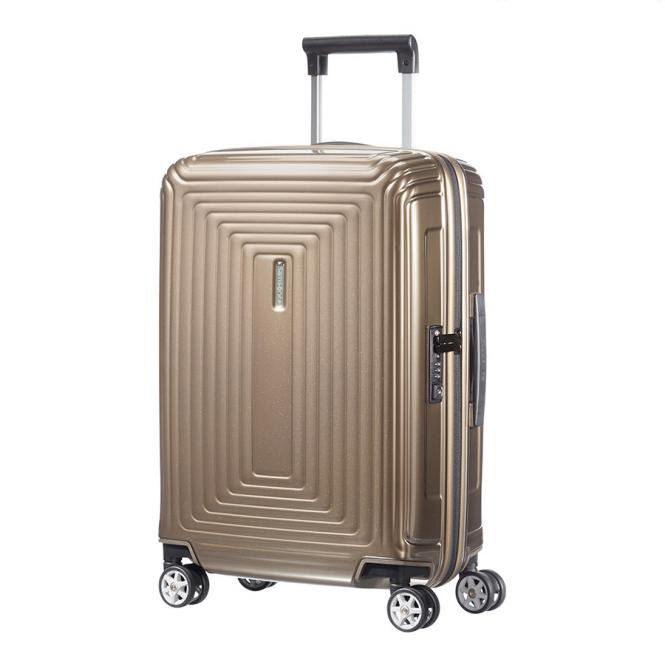 samsonite neopulse spinner 55 20 metallic sand jetzt auf kaufen. Black Bedroom Furniture Sets. Home Design Ideas