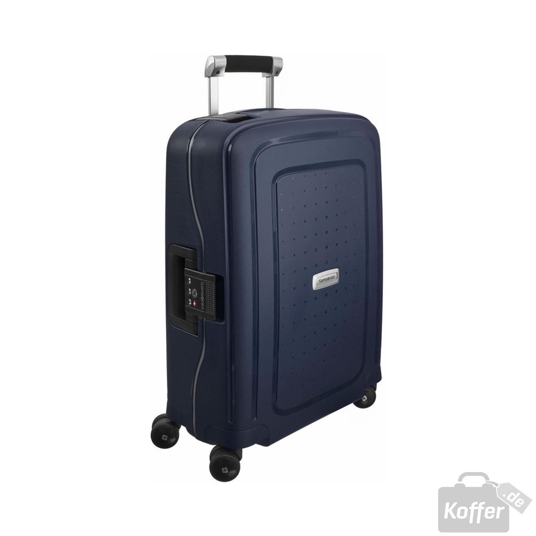 samsonite s 39 cure dlx spinner 55cm cabin midnight blue jetzt auf online kaufen. Black Bedroom Furniture Sets. Home Design Ideas