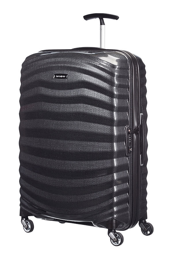 samsonite lite shock spinner 69 25 black jetzt auf. Black Bedroom Furniture Sets. Home Design Ideas