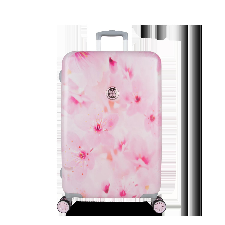 suitsuit sakura blossom trolley 67cm spinner. Black Bedroom Furniture Sets. Home Design Ideas