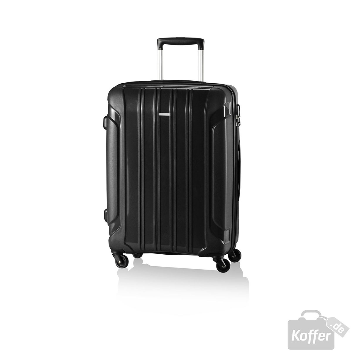 travelite colosso 4w trolley s black jetzt auf. Black Bedroom Furniture Sets. Home Design Ideas