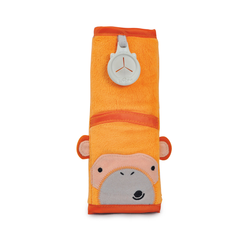 Trunki SnooziHedz Gurtpolster Affe Mylo - Orange 0107-GB01