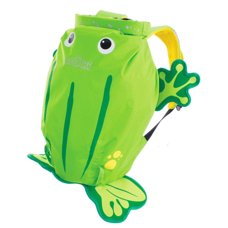 Trunki PaddlePak Ribbit der Frosch Kinderrucksack Medium 0110-GB01
