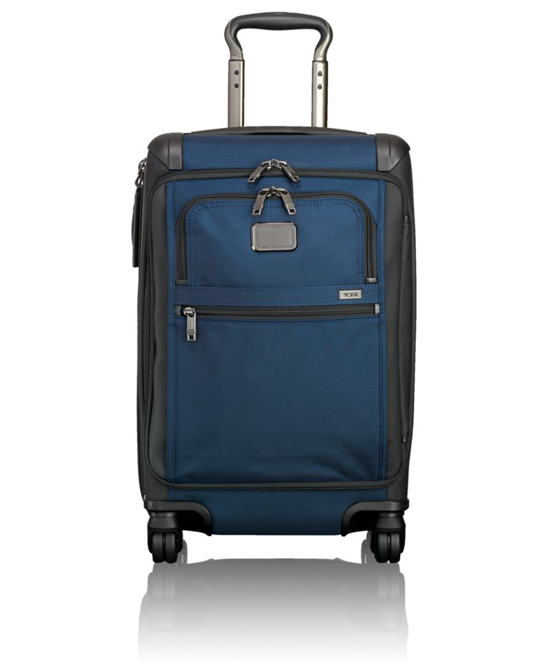 854de93292d2b Tumi Alpha 2 Internationales Handgepäck mit Frontdeckel Navy Black ...