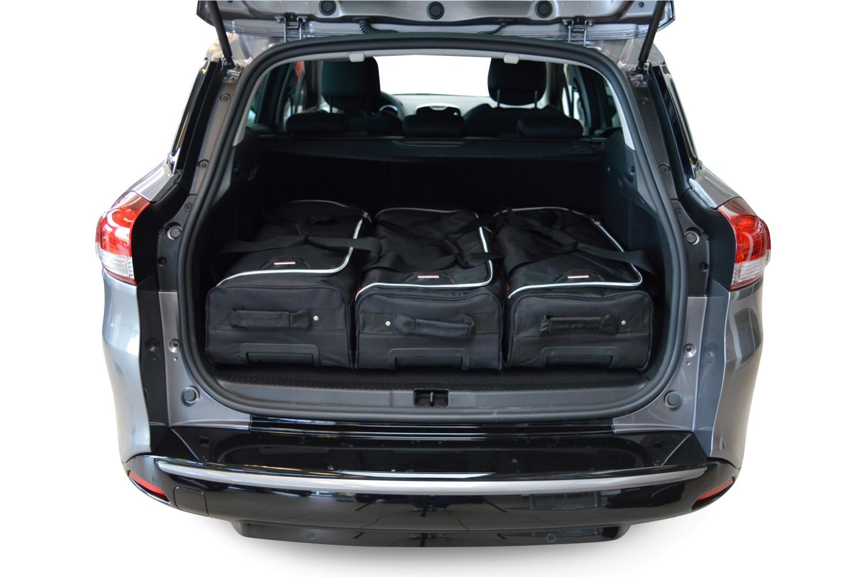 car bags renault clio reisetaschen set iv estate grandtour ab 2013 3x57l 3x39l jetzt auf. Black Bedroom Furniture Sets. Home Design Ideas
