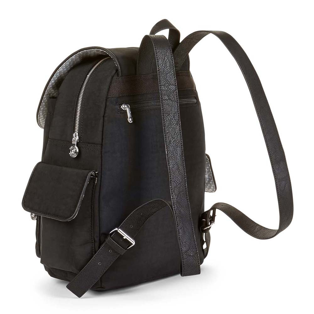 kipling city pack basic plus m rucksack black padded jetzt auf kaufen. Black Bedroom Furniture Sets. Home Design Ideas