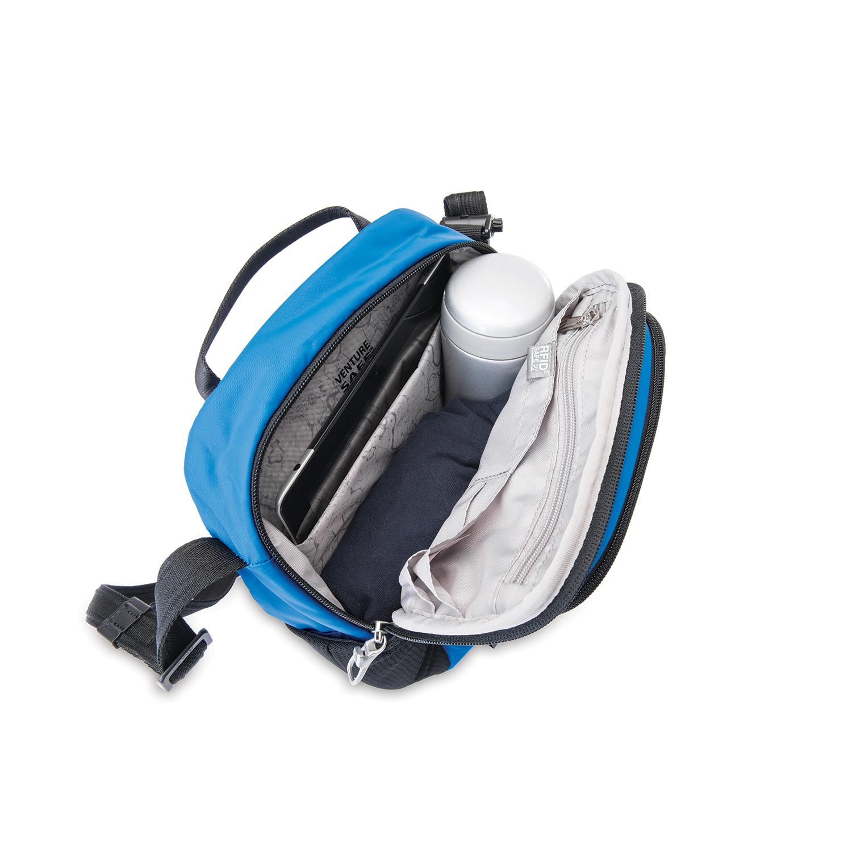 457e02e7910dd Zoom. pacsafe Vibe 200 Anti-theft compact travel bag Reisetasche Black