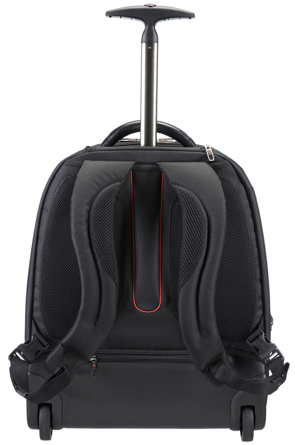 samsonite pro dlx 4 laptop rucksack auf rollen 17 3 zoll. Black Bedroom Furniture Sets. Home Design Ideas