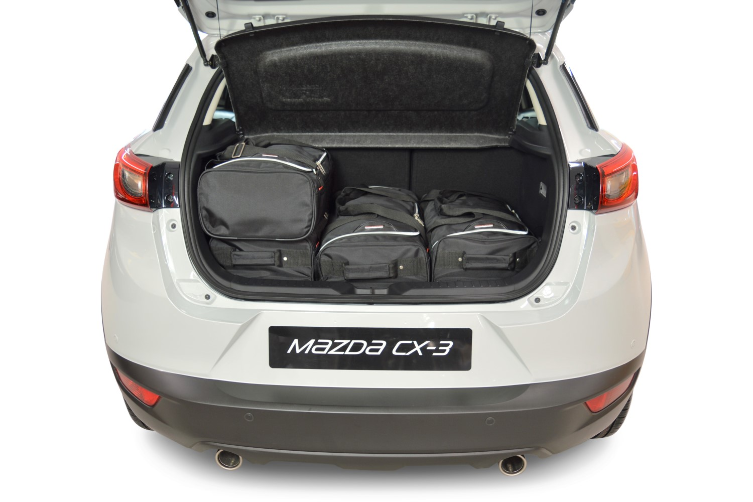 car bags mazda cx 3 reisetaschen set ab 2015 3x47l. Black Bedroom Furniture Sets. Home Design Ideas