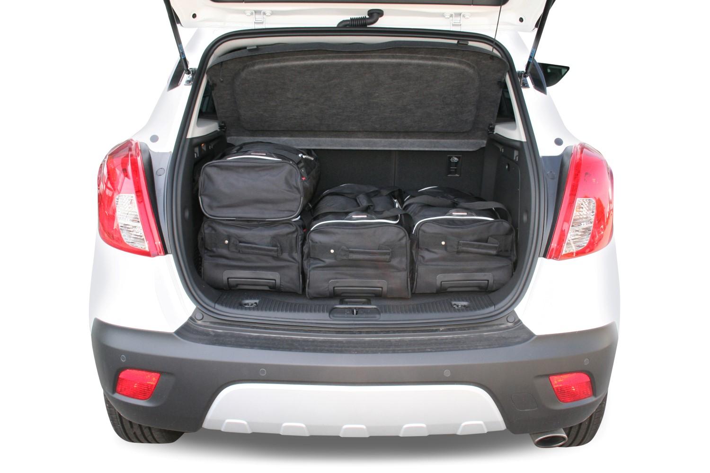 car bags opel mokka mokka x reisetaschen set ab 2012. Black Bedroom Furniture Sets. Home Design Ideas
