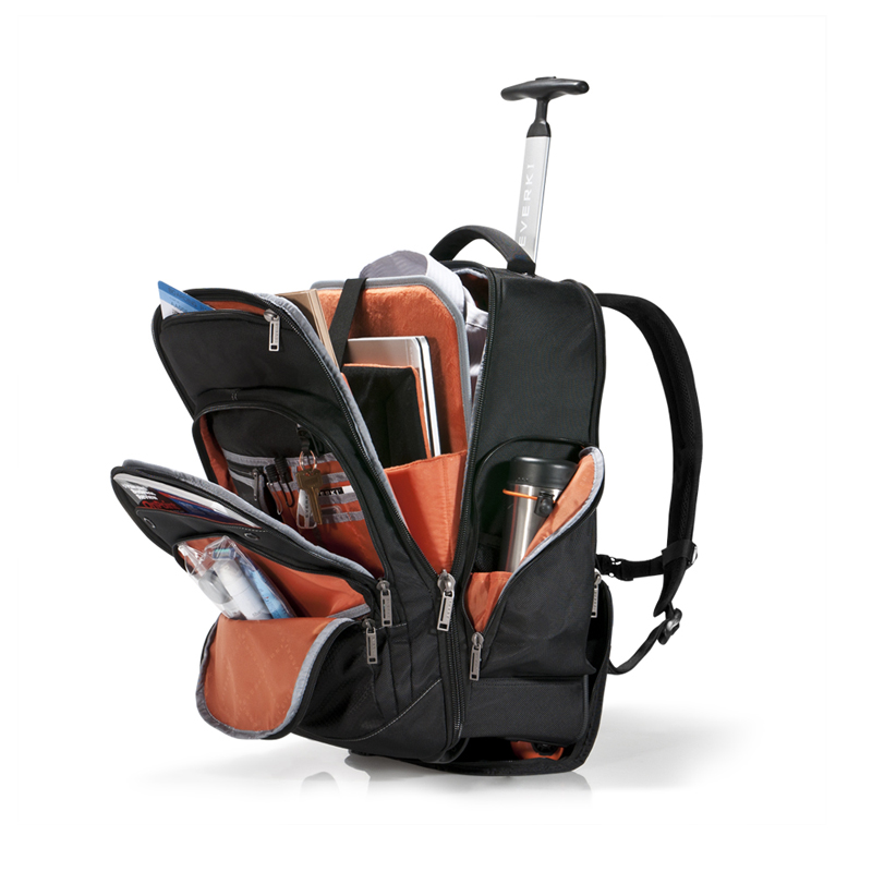 everki atlas business laptop rucksack auf rollen jetzt. Black Bedroom Furniture Sets. Home Design Ideas
