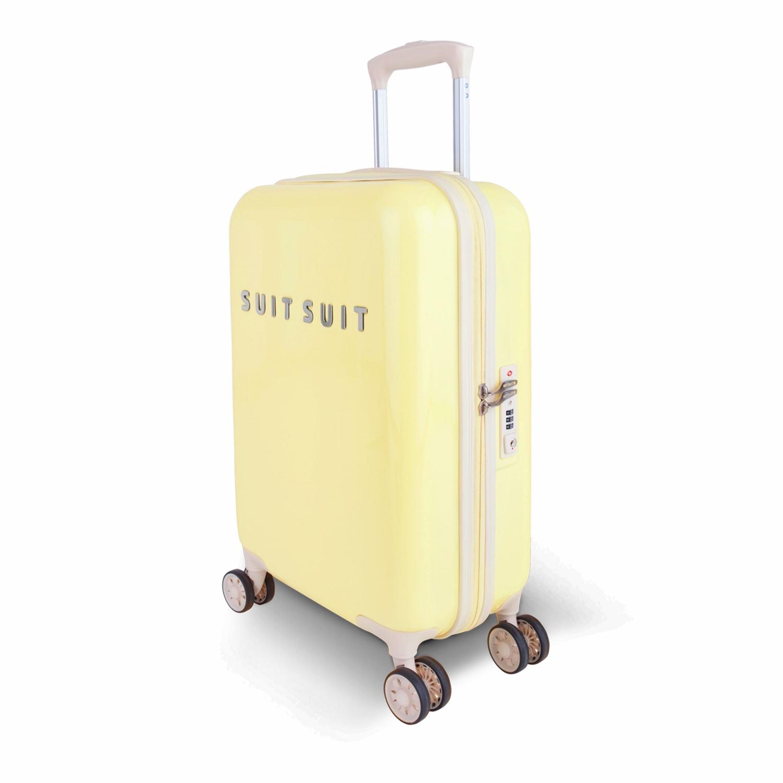suitsuit fabulous fifties trolley 55 cm spinner gratis kulturtasche mango cream jetzt auf. Black Bedroom Furniture Sets. Home Design Ideas