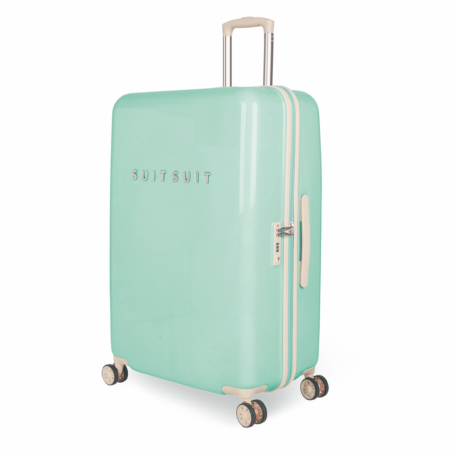 suitsuit fabulous fifties trolley 76 cm spinner luminous mint jetzt auf kaufen. Black Bedroom Furniture Sets. Home Design Ideas