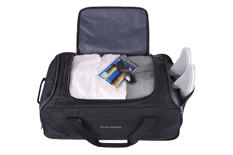 Reisen Koffer, Taschen & Accessoires Travelite Kick Off Trolley Freizeittasche Xl 77 Cm