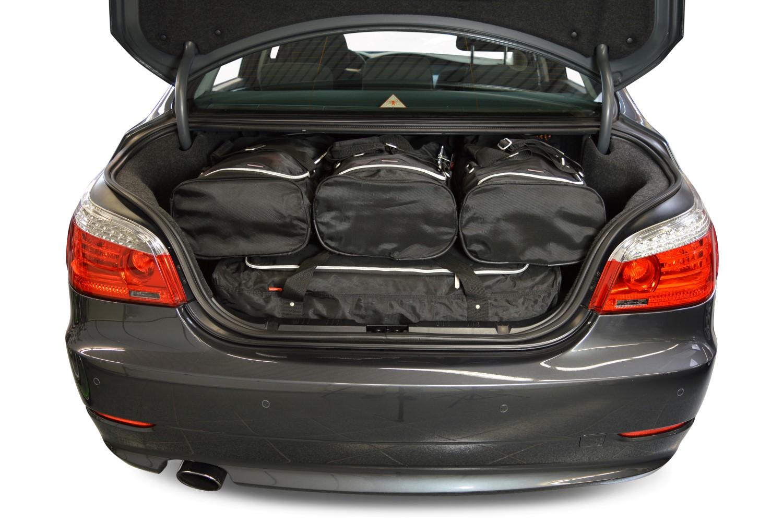 car bags bmw 5 series reisetaschen set e60 2004 2010. Black Bedroom Furniture Sets. Home Design Ideas