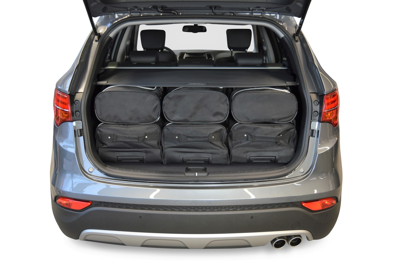car bags hyundai santa fe reisetaschen set dm ab 2012. Black Bedroom Furniture Sets. Home Design Ideas