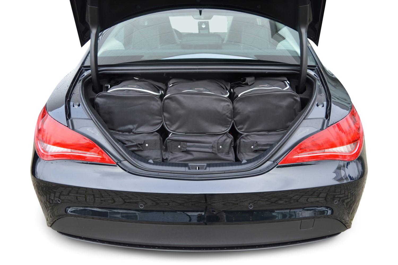 car bags mercedes benz cla reisetaschen set c117 ab 2013. Black Bedroom Furniture Sets. Home Design Ideas