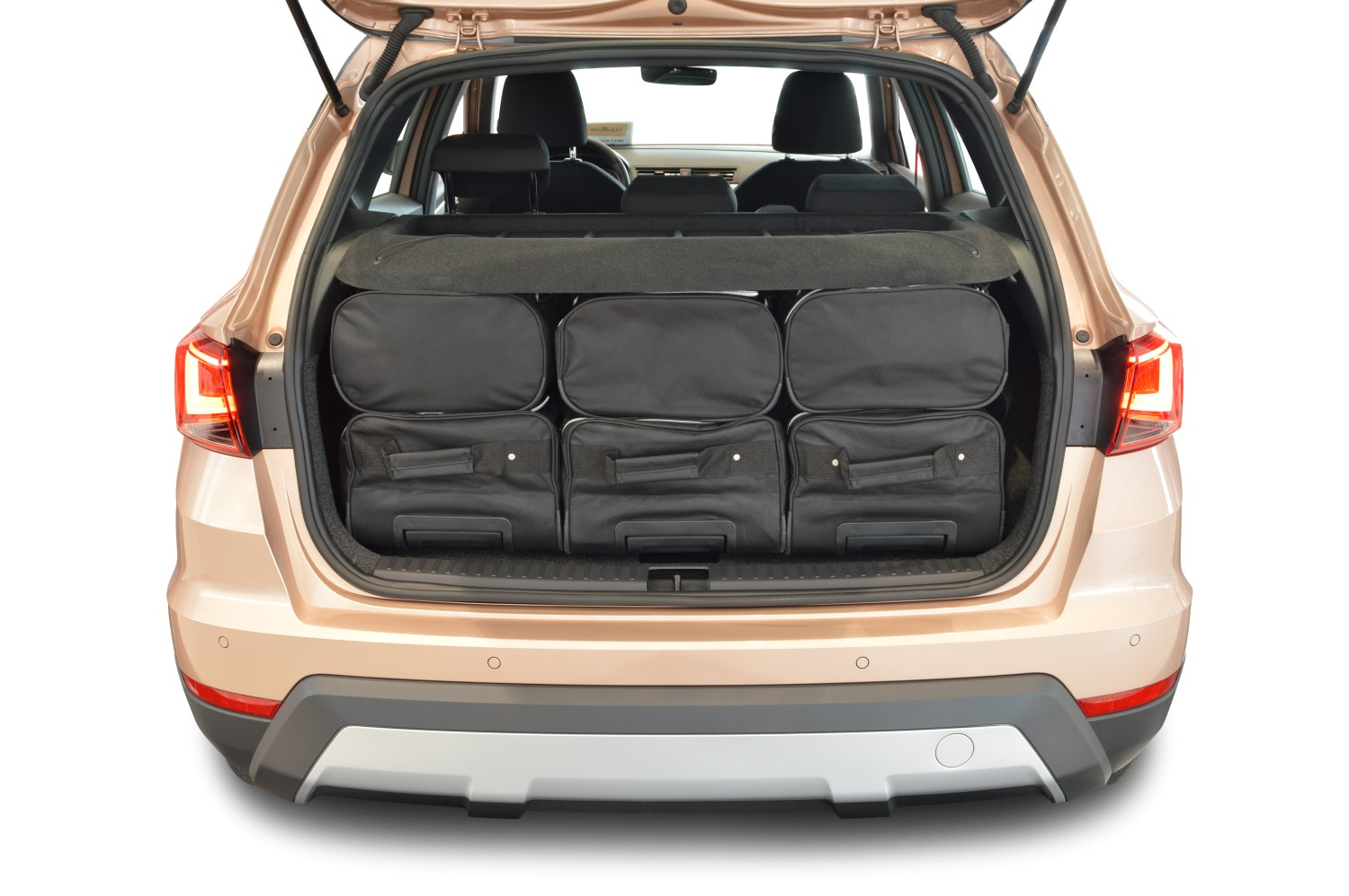 car bags seat arona reisetaschen set ab 2017 3x54l. Black Bedroom Furniture Sets. Home Design Ideas