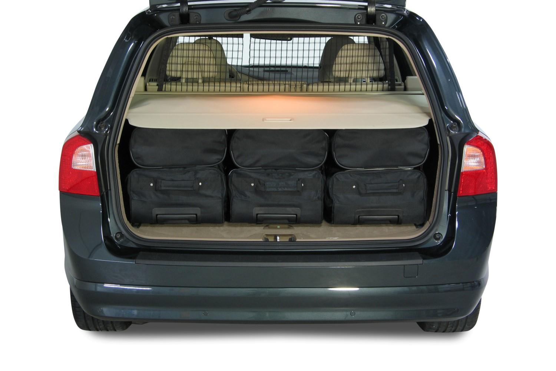 car bags volvo v70 reisetaschen set p24 2007 2016. Black Bedroom Furniture Sets. Home Design Ideas