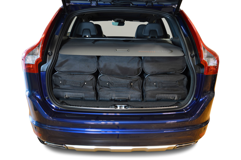 car bags volvo xc60 reisetaschen set i 2008 2017 3x81l. Black Bedroom Furniture Sets. Home Design Ideas