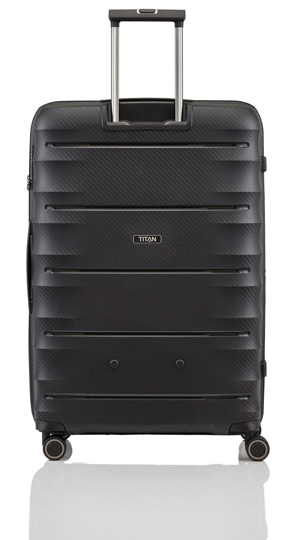 9f7ac7d1ebb957 Titan Highlight Trolley L 4 Rollen Black | jetzt auf Koffer.de kaufen ✅