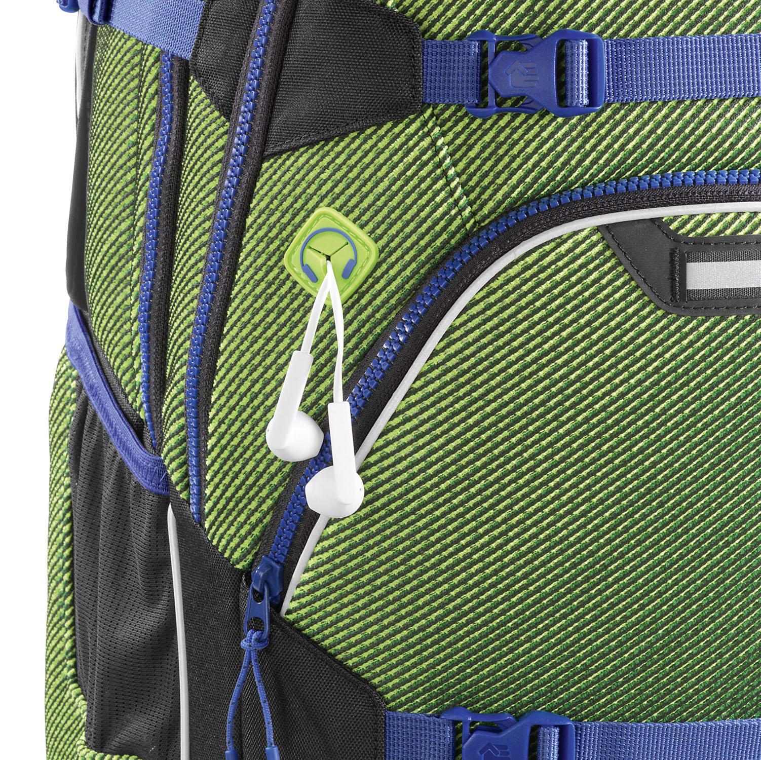 727a61054ae1f Zoom. Coocazoo Schulrucksäcke ScaleRale Rucksack MatchPatch  FreakaSneaka  Edition  Chameleon Green