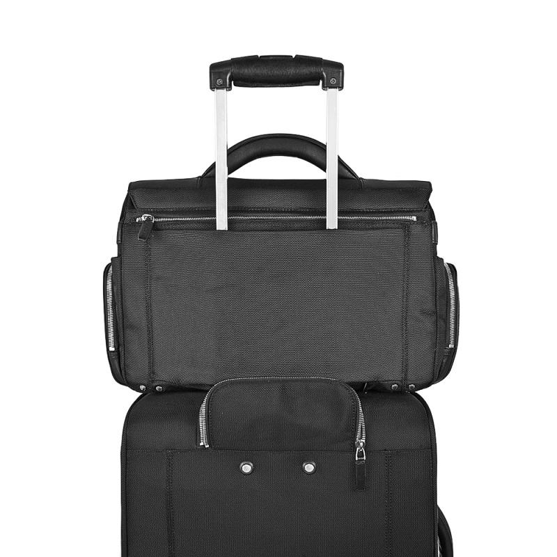 piquadro link laptoptasche mit zwei f chern dark brown jetzt auf online kaufen. Black Bedroom Furniture Sets. Home Design Ideas