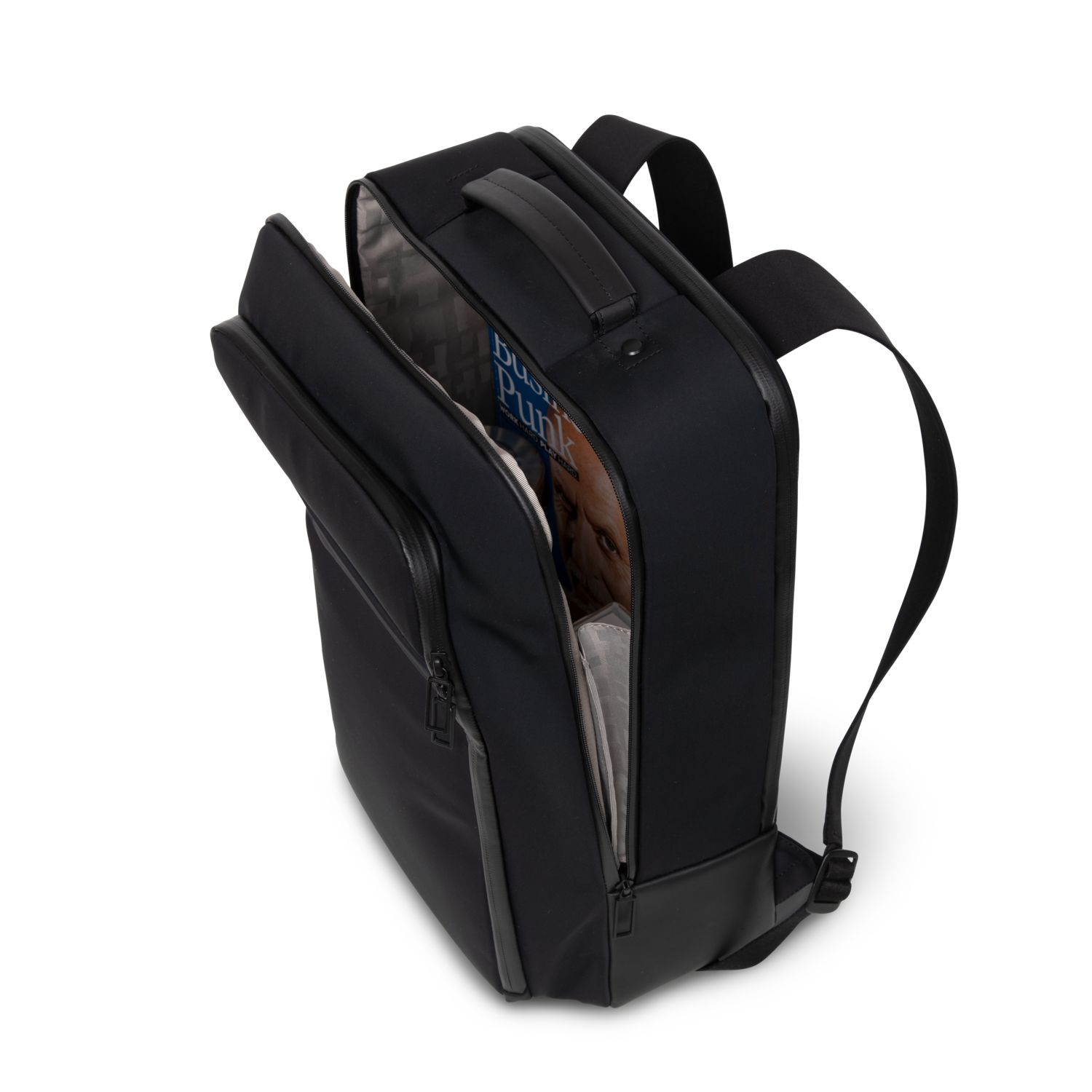6bbacb5efd6ab Zoom. Salzen New Collection Business Backpack ...