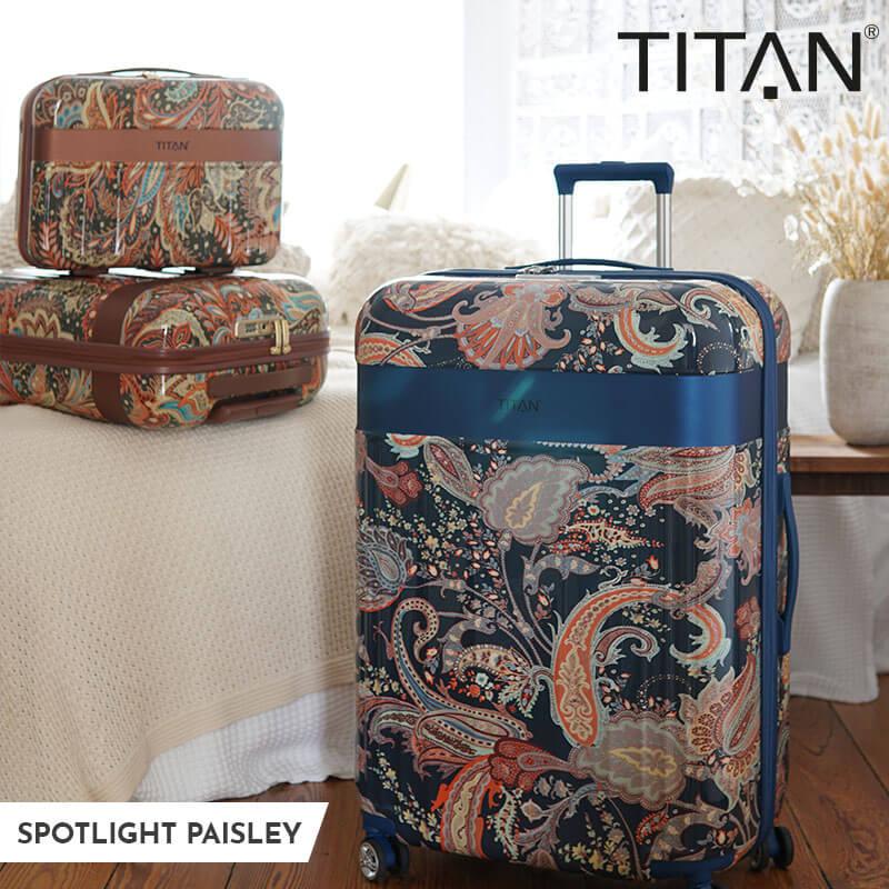 Titan Spotlight Paisley Trolleys
