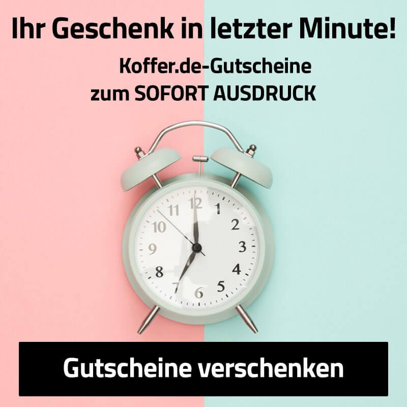 Wertgutscheine zu Ausdrucken auf Koffer.de