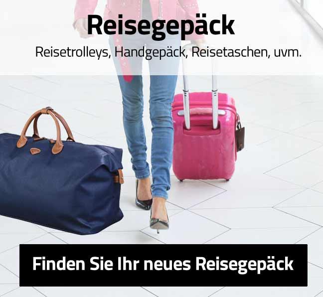 Finden Sie Ihr neues Reisegepäck