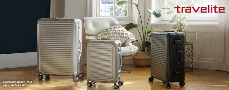 Travelite Next Aluminium Trolleys
