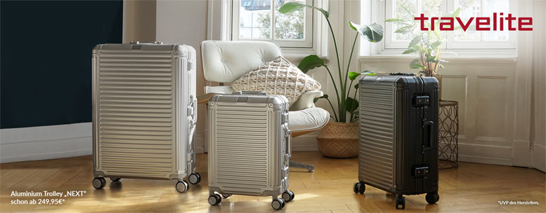 Aluminiumtrolley Travelite Next
